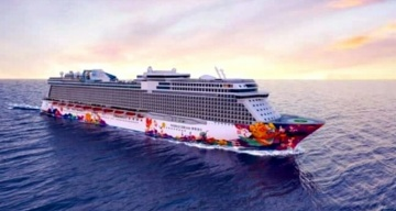 Genting Dream goes to Boracay Island