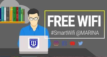 Smart Free WIFI at MARINA