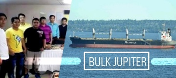 MV Bulk Jupiter of Gearbulk Norway AS