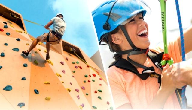 Zip line and Wall Rock Climb - Harmony of the Seas