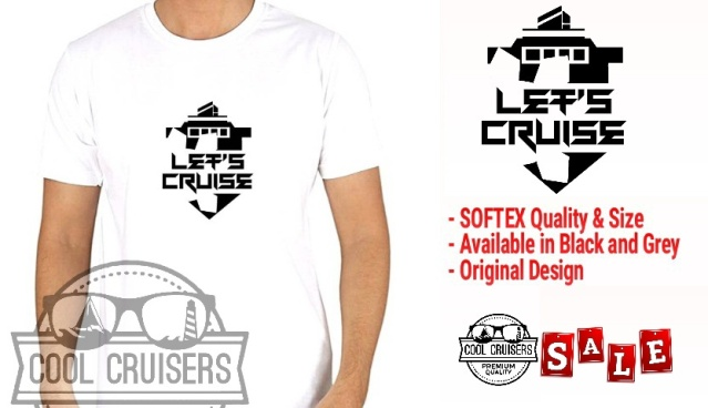 LET'S CRUISE TSHIRT
