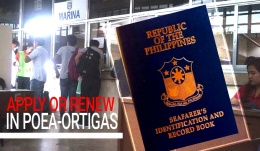 FAST SEAMAN'S BOOK PROCESSING IN POEA ORTIGAS