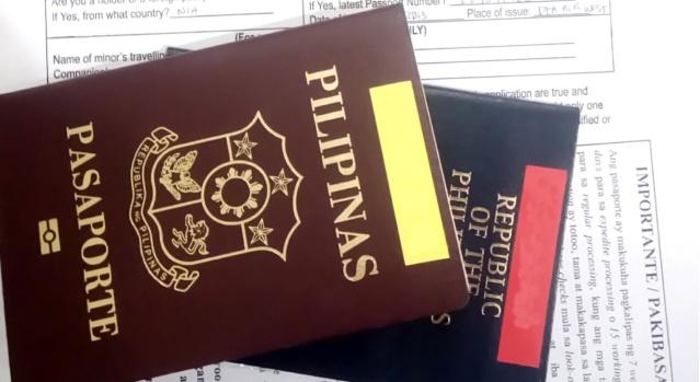Passport application requirements